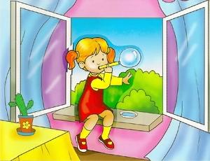 Фото дети и открытые окна